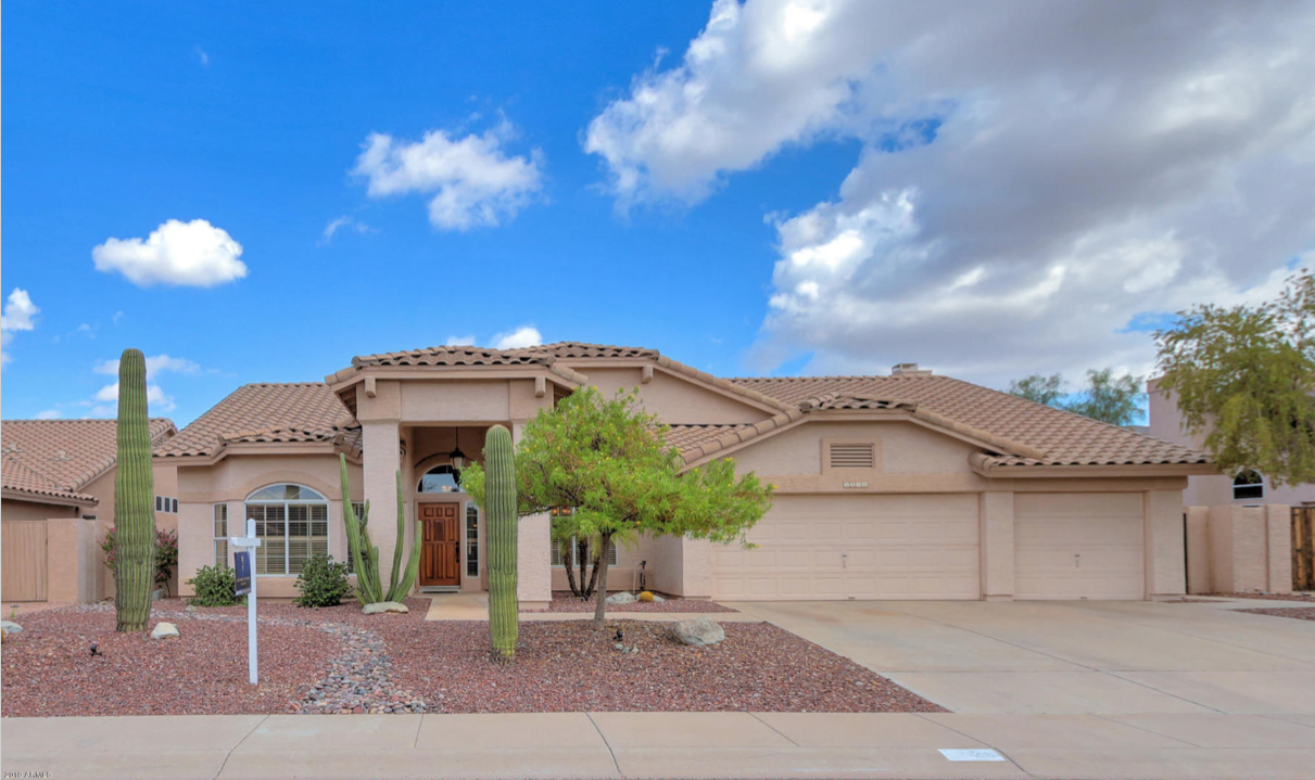 Beautiful four bedroom two bath home for sale in Phoenix.