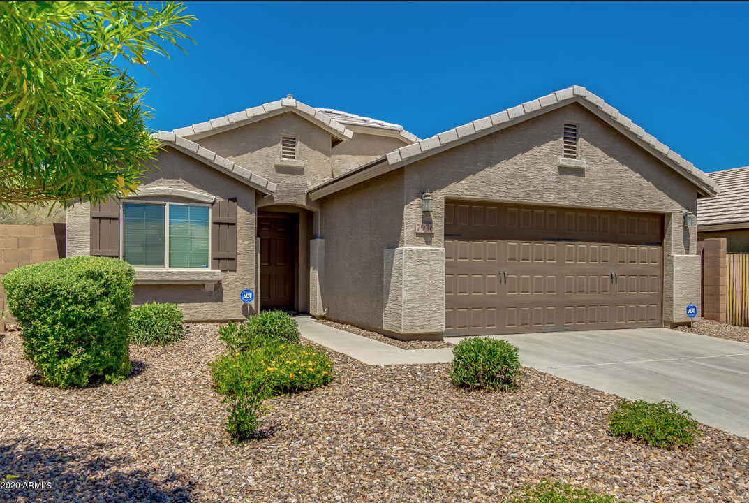 Four bedroom two bath house for sale Gilbert Arizona under $400,000.